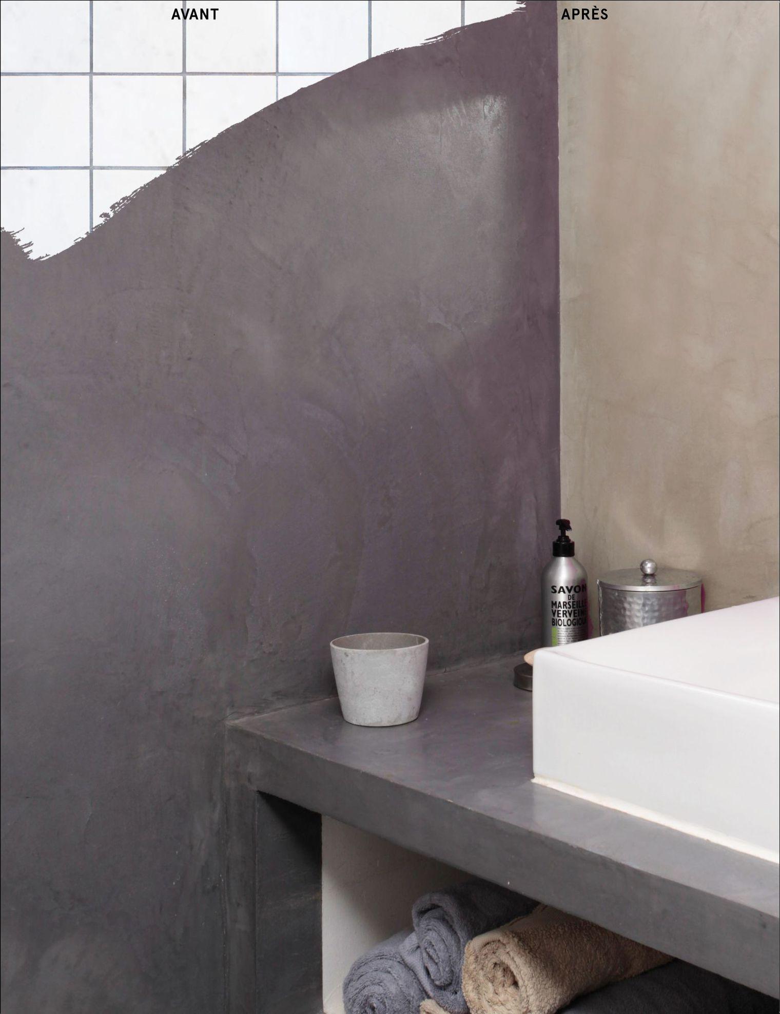 Comment repeindre un carrelage mural le blog d co - Recouvrir carrelage mural salle de bain ...